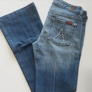 "7 For All Mankind ""A"" Pocket Jeans sz 25"